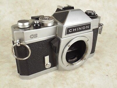 Chinon CS 35mm Film Camera Body Only No Lens  Spares Or Repair Made In Japan