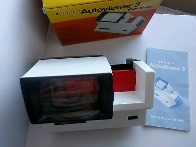 Photax Autoviewer 3,35mm slide viewer, immaculate condition,tested fully working