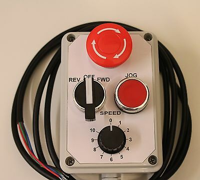 Three phase inverter remote control pendant pod and Estop