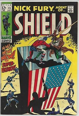Nick Fury Agent of Shield (1968) # 13 FN+