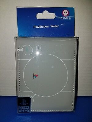 Official Licensed PlayStation Wallet By Numskull Brand New in Package -1 2 3 4