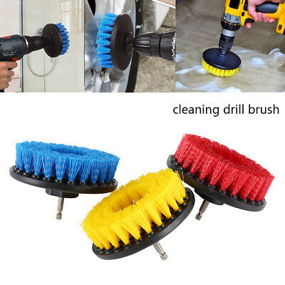 5 inch drill brush for Car Carpet wall and Tile cleaning MEDIUM DUTY