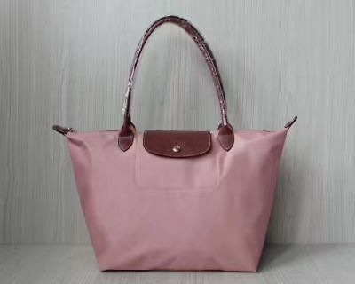 d7aad9808256 NEW Longchamp Le Pliage tote Nylon Handbags Cherry blossom pink Bag L