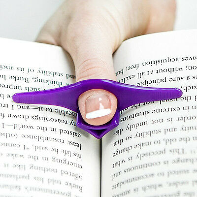 Mini 5pcs Thumb Thing Book Page Holder and Bookmark Multicolor UK-