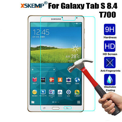 100% Genuine 9H Tempered Glass Screen Protector Cover For Samsung Galaxy Tablets