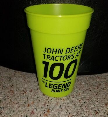 John Deere 100th Year Tractor Color Changing 16 oz Cup