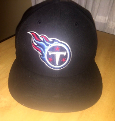 the best attitude 816ec 2e2d1 New Era 59fifty NFL Tennessee Titans on field 7 1 4 Fitted Cap Black