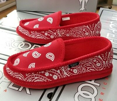 Trooper Bandana House Shoes Rdwh Men's Red/white