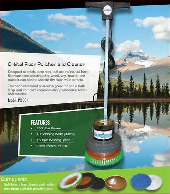 Polystar Orbital Floor Polisher & Cleaner (PS-001)