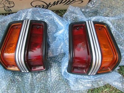 Genuine Ford Tail Lights Fit Xy Gt Gs Fairmont Gtho Lucas Nos Lenses Falcon Mint