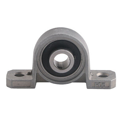 8mm Zinc Alloy Mounted Support Self-aligning Ball Bearing Pillow Block Housing