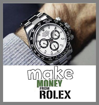 ROLEX WATCH Website Earn £1,912.50 A SALE|FREE Domain|FREE Hosting|FREE Traffic