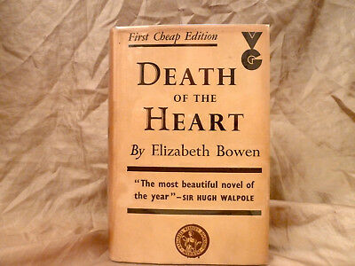 Elizabeth Bowen - The Death Of The Heart - Uk 1938 Second Edition Hardcover