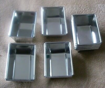 Mini Loaf Tins Set of 8  Traditional tin  British Made