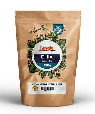 Premium Chia Seeds Natural Weight Loss & Detox With Raw Whole Chia - ALL SIZES
