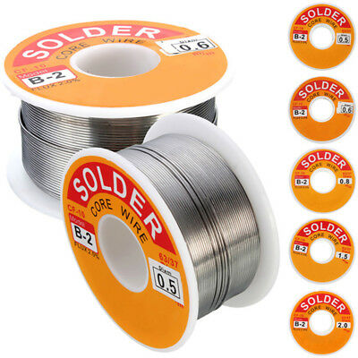 63-37 Tin Lead Rosin Core Solder Wire for Electrical Solderding .0.5-2mm 100g