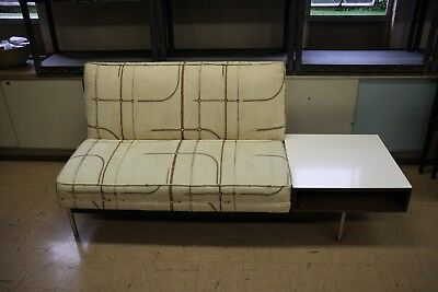 Magnificent Mcm Mid Century Modern Adrian Pearsall Style Platform Sofa Short Links Chair Design For Home Short Linksinfo