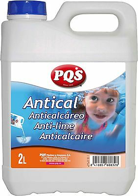 Antical PQS especial piscinas. Botella 2 Lt.
