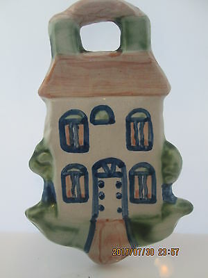 "M.A. Hadley Pottery House Farm Wall Hanging Wall Plaque 4 1/4"" Home Decor"