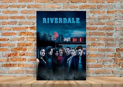 Riverdale TV Show Poster or Canvas Art Print - A3 A4 Sizes