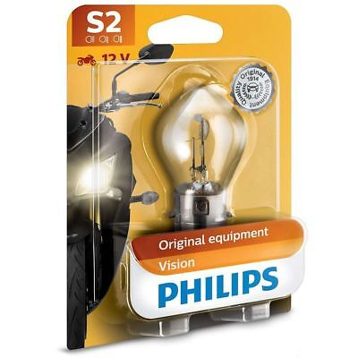 Philips S2 Vision Moto 12v Replacement Upgrade Motorbike BULB Single