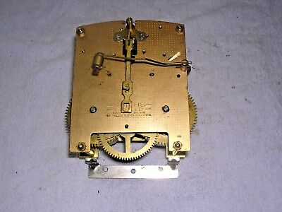 CLOCK  PARTS , CLOCK MOVEMENT  G W O,SMITHS  ENFIELD  q