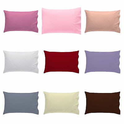 Cot Bed Baby Pillow Case Pillowcase 60CM x 40CM Luxury Cover Pack of 1