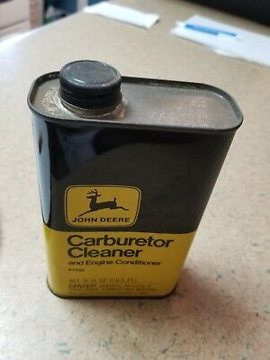 John Deere Carburetor Cleaner PT503 16oz Empty Bottle, Garage Decor