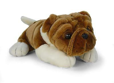 Realistic Plush Stuffed Animal Kids Gifts Toys Puppy Dog 10 Inches Soft Bulldog