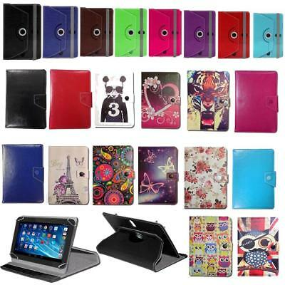 """Stylish Wallet Case Cover Stand Fits RCA Saturn 10 Pro 10.1"""" & Stylus"""