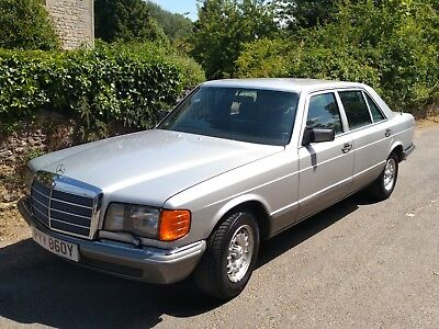 Mercedes 500 SEL, 45000 miles 1983, Immaculate W126!