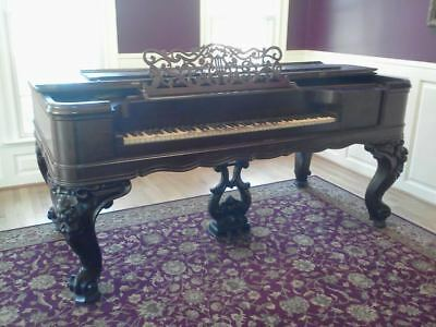 Antique Weber Square Grand Piano, Serial No. 8084