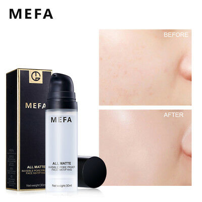 MEFA 30ml Face Pore Invisible Makeup Base Primer Viso Smooth Foundation Cosmetic