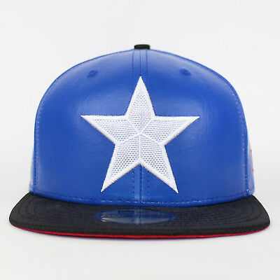 New Era 59FIFTY Captain America PU Suit Fitted The Flat Baseball Cap
