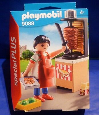 Playmobil 9088 Kebab Grill Special Plus Döner Stand Neu OVP