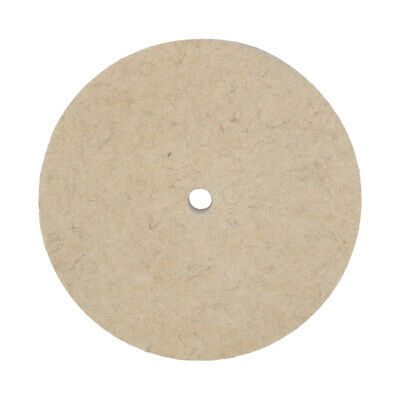 8 Inch Polishing Buffing Grinding Wheel Wool Felt Polisher Disc 25MM Thickness