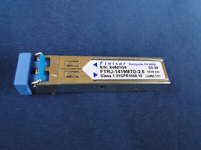 Finisar FTRJ-1419M7D-2.5 2G 1310nm 55km fiber optic module cx4 to sfp converter