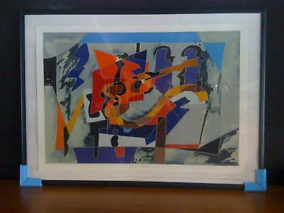 Quadro COLLAGE ARTIST autore UGO NESPOLO firmata 93/200 OUTLET
