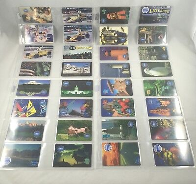 Rare 32 Phone Card Lot Destiny Communications