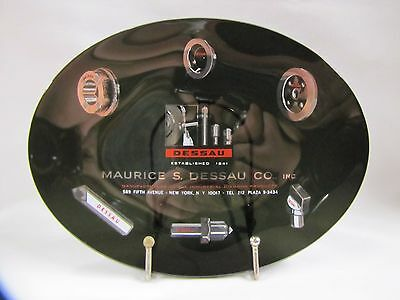 Vintage Maurice Dessau Co Industrial Diamond 5th Ave NY Advertising Tray 1960s