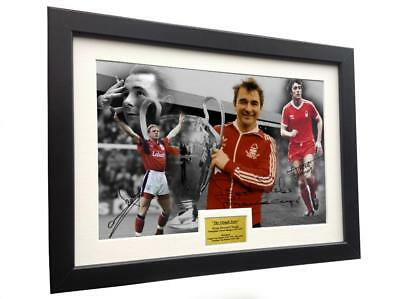 Signed BRIAN CLOUGH YEARS Nottingham Forest Photo Photograph Picture Frame Gift