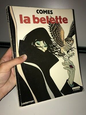 La Belette By Comes - RARE French Graphic Novel Paper Back Book Casterman 1983