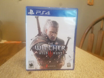 THE WITCHER III 3: Wild Hunt for PS4 Playstation Great Condition ...