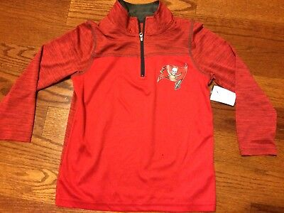 Cheap NEW NFL TAMPA Bay Buccaneers Majestic Women's Quarter Zip Pullover  free shipping