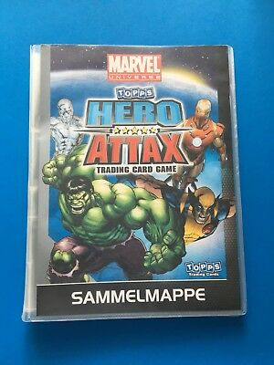 Marvel Movie Hero Attax Serie 1 Album - Sammelmappe + Sammelkarten komplett
