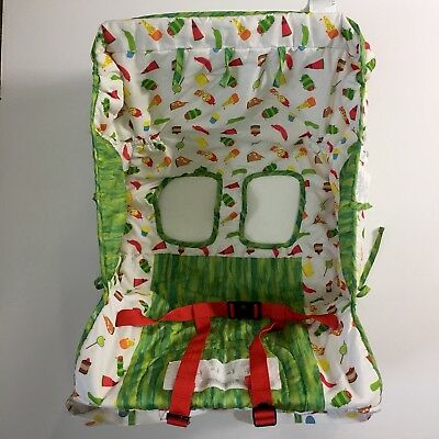 The Very Hungry Caterpillar Shopping Cart High Chair Cover & Tote Bag Eric Carle
