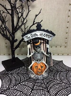 "NEW!! 2017 BLUE SKY Clayworks ""The Gate Keeper"" Tea Light by Heather Goldminc #1"
