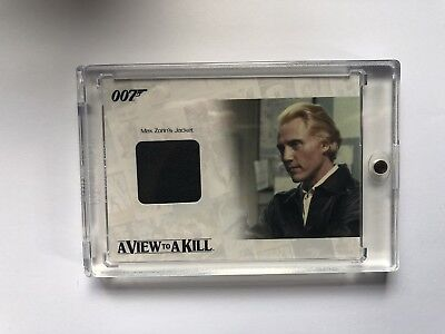 James Bond Relic - MAX ZORIN JACKET - JBR33 - #'ed to 400
