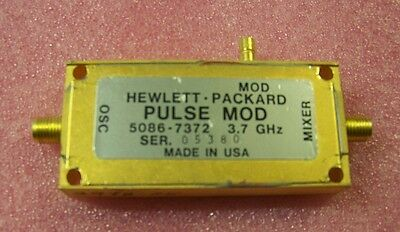 HP 5086-7372 low band pulse modulator for HP 83341B etc. sweeper. Working!