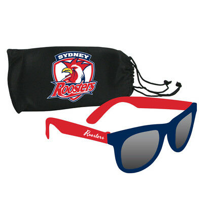 NRL Sunglasses & Case Set - Sydney Roosters - Rugby League